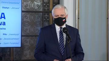 """""""Rząd przejściowy"""" opozycji z Porozumieniem? Gowin odpowiada"""