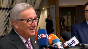 Juncker: gdybym był Polakiem mieszkającym na Wyspach czułbym się sfrustrowany