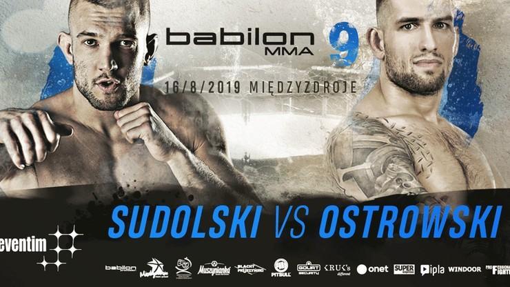 Babilon MMA 9: Ostrowski chce zemsty na Sudolskim za porażki kolegów