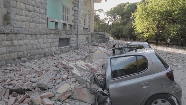 """""""Najsilniejsze od 20-30 lat"""" trzęsienie ziemi w Albanii. Ponad 100 rannych"""