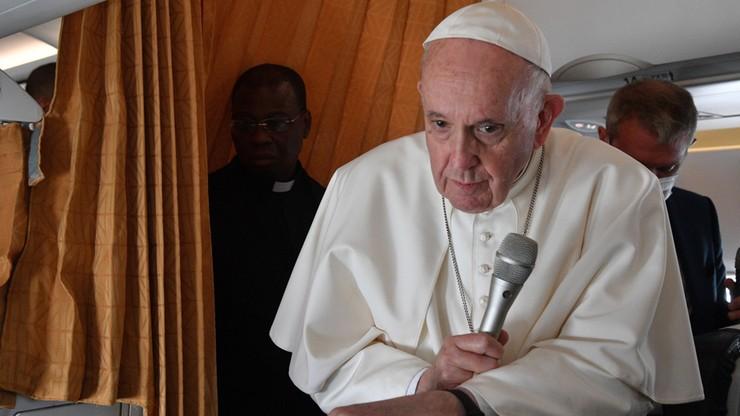 Papież Franciszek: wciąż żyję, choć niektórzy chcieli mojej śmierci