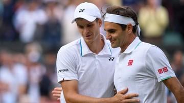 Hurkacz dla Polsatu Sport: Zwycięstwo z Federerem to wielkie wydarzenie
