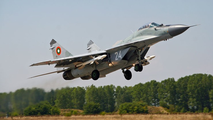 Bułgaria. Myśliwiec MiG-29 spadł do Morza Czarnego. Trwa poszukiwanie pilota