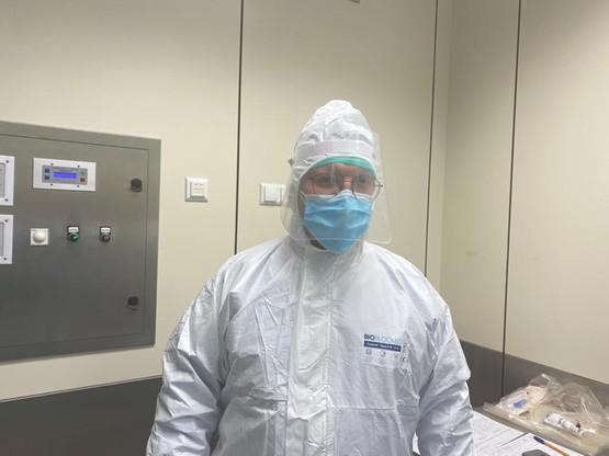 mgr. Krzysztof Zając, koordynator transplantacyjny