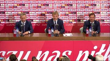Pierwsza konferencja Brzęczka w roli selekcjonera. Lewandowski pozostanie kapitanem kadry