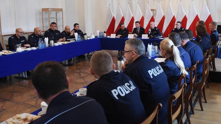 7 tys. policjantów będzie w stolicy 11 listopada