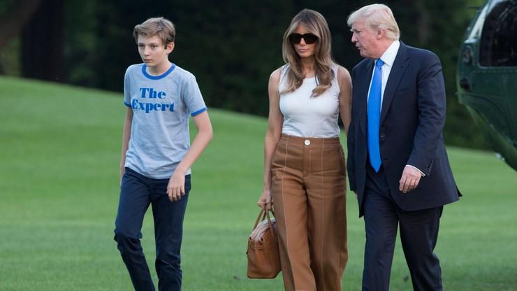 Melania Trump wprowadziła się z synem do Białego Domu