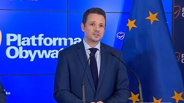 Trzaskowski: europosłów PO głosujących za rezolucją poniosły nerwy