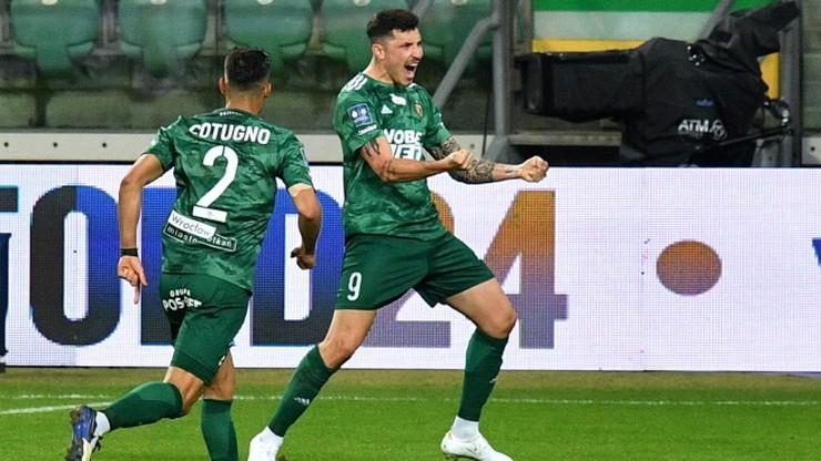 PKO Ekstraklasa: Śląsk Wrocław pokonał Pogoń Szczecin. Erik Exposito bohaterem!