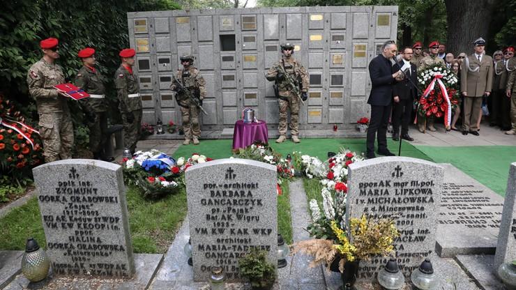 Żołnierz AK Stanisław Likiernik spoczął na Cmentarzu Wojskowym na Powązkach
