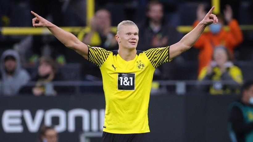Bundesliga: Sześć goli w meczu Borussii Dortmund. Haaland dogonił Lewandowskiego