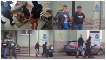 Rosyjski gangster zatrzymany w kurorcie w Hiszpanii. Spał z siekierą pod poduszką