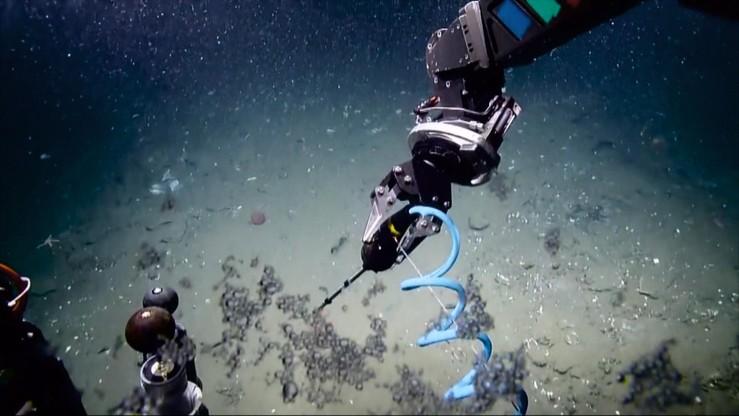 Lód metanowy - paliwo przyszłości na dnie Morza Południowochińskiego