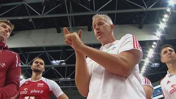 Heynen w emocjonalnej przemowie po drugim meczu z Niemcami (WIDEO)