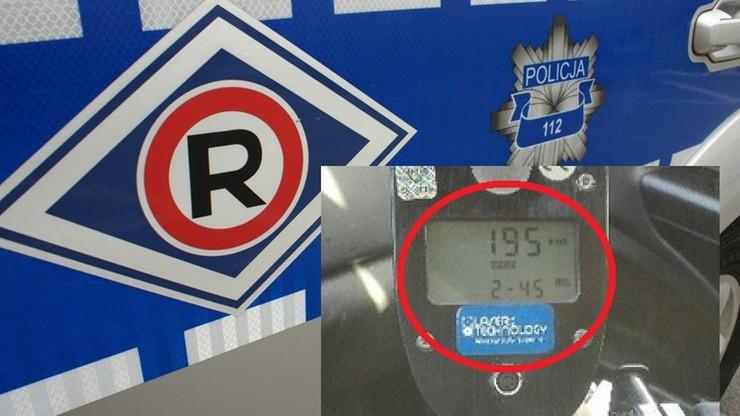 """Na liczniku 195 km/h, a ograniczenie do 70. """"Testował"""" audi po naprawie"""