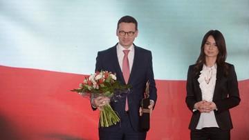 """Morawiecki laureatem nagrody im. Lecha Kaczyńskiego. """"Osoba nietuzinkowa"""""""