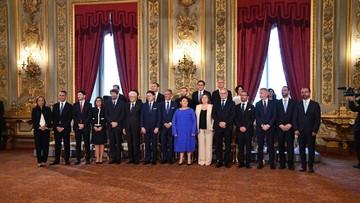 Włochy: nowy rząd Giuseppe Contego zaprzysiężony