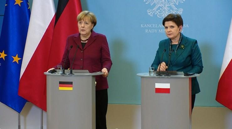 Szydło i Merkel będą rozmawiać w Brukseli. Ważą się losy szefa Rady Europejskiej