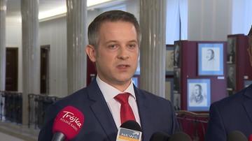 PO chce dymisji Andruszkiewicza i informacji o działaniach prokuratury w jego sprawie
