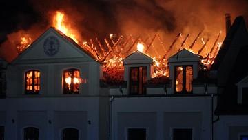 Pożar Domu Pielgrzyma w Kodniu