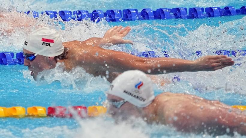 Tokio 2020: Jakub Majerski awansował do finału 100 m st. motylkowym