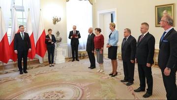 Prezydent wręczył akty nominacyjne członkom Kapituły Orderu Odrodzenia Polski