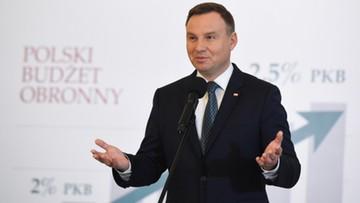 Prezydent Duda po raz kolejny liderem rankingu zaufania; Macierewicz - nieufności