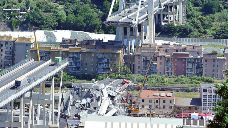 Śledztwo w sprawie tragedii w Genui wszczęła francuska prokuratura