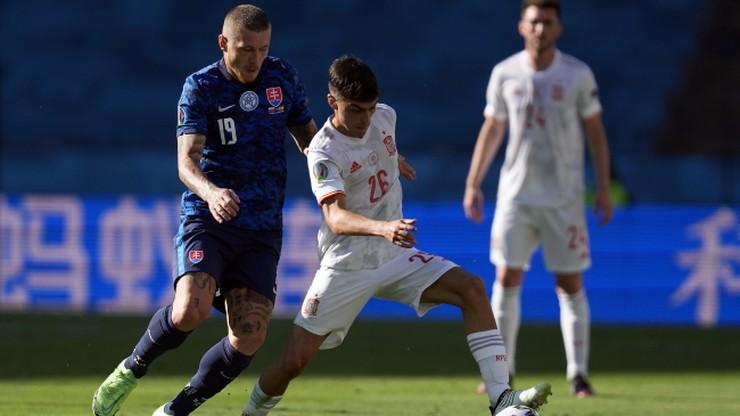 Euro 2020: Słowacja - Hiszpania 0:5. Gol samobójczy Juraja Kucki