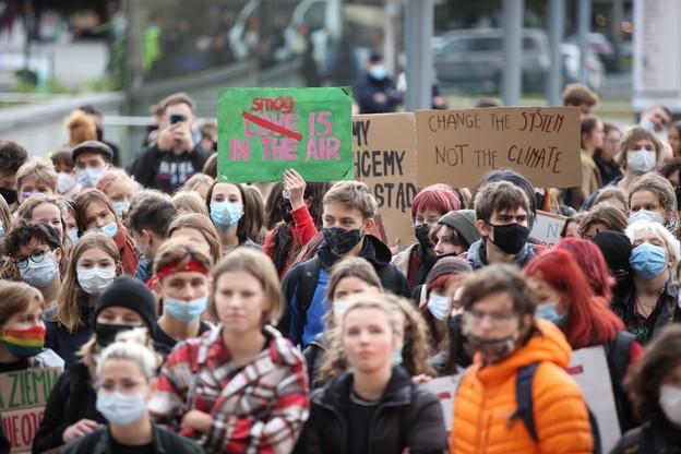 Młodzieżowy Strajk Klimatyczny, Kraków