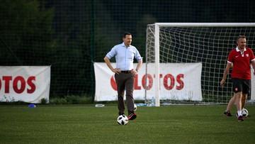 Premier Morawiecki odwiedził piłkarzy w Arłamowie. Towarzyszyli mu podopieczni Domu Dziecka