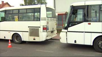 Zderzenie autobusów w Będzinie. Około 20 poszkodowanych, wśród nich kobieta w ciąży