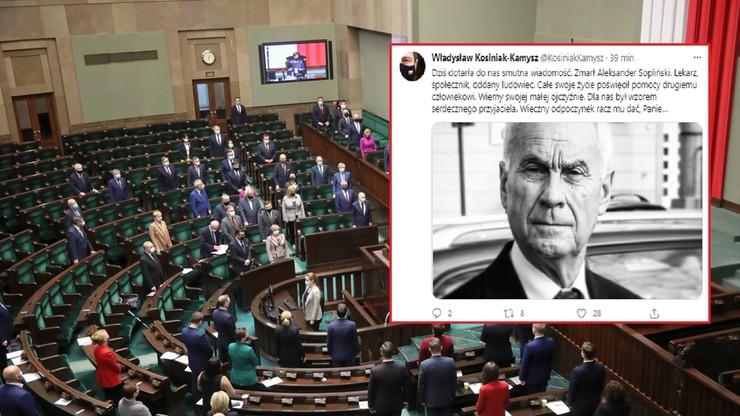 """Zmarł były poseł Aleksander Sopliński. """"Lekarz, społecznik, oddany ludowiec"""""""