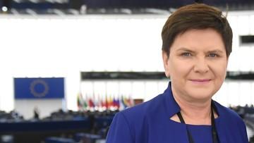 Beata Szydło oficjalnie kandydatką na szefową komisji zatrudnienia w PE