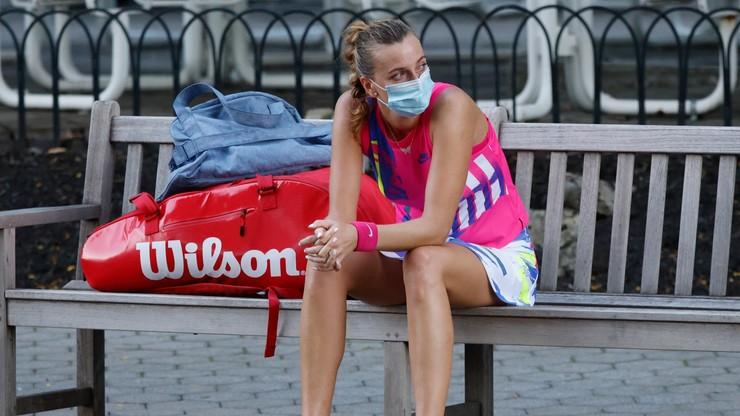 US Open: Kvitova nie wykorzystała czterech meczboli i odpadła w 1/8 finału