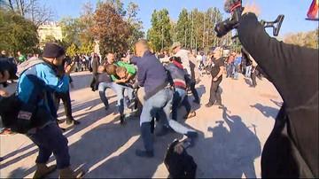 Marsz Równości w Lublinie. Dwóch policjantów rannych, zatrzymano kilkadziesiąt osób