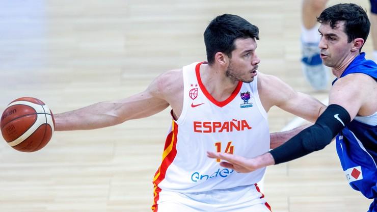 Wygrana Hiszpanii na koniec eliminacji ME koszykarzy