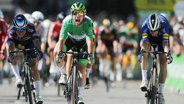 Tour de France: Cavendish wyrównał rekord Merckxa