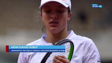 Kubot o triumfie Świątek w wielkoszlemowym French Open