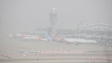 """""""Ekstremalnie silna"""" burza piaskowa w Korei Południowej. Spowija prawie cały kraj"""