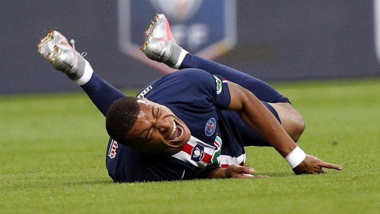 PSG z Pucharem Francji. Kontuzja Mbappe i festiwal nieskuteczności w finale
