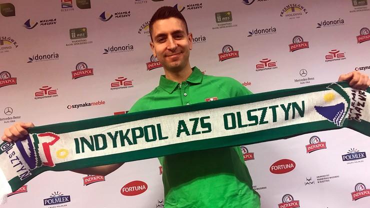 Indykpol AZS Olsztyn zaprezentował nowego trenera