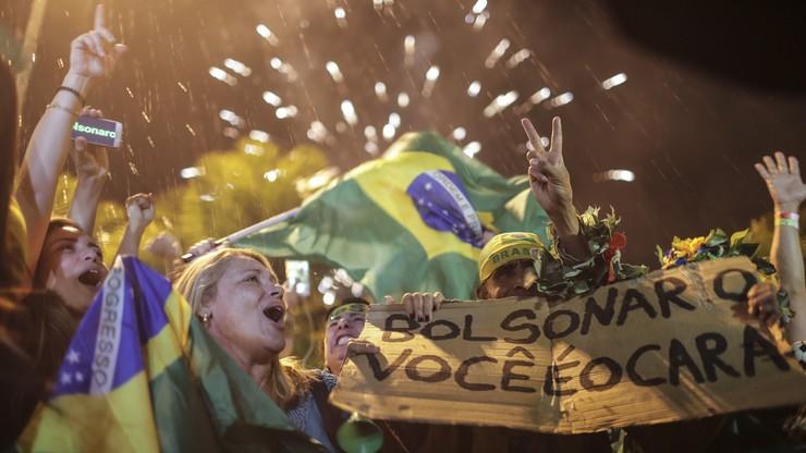 Jair Bolsonaro wygrał wybory prezydenckie w Brazylii