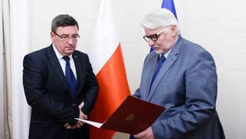 Nowi ambasadorzy RP we Francji, w Holandii, Kanadzie oraz Kazachstanie. Szef MSZ wręczył nominacje