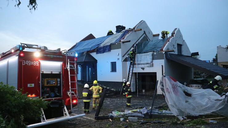 Burze nad Polską. Dwa tysiące interwencji straży pożarnej w całym kraju