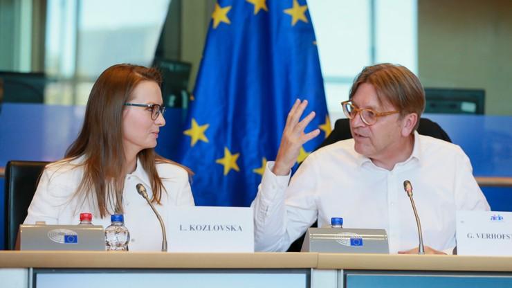 """PiS interweniuje u Tajaniego ws. wizyty Kozłowskiej. """"PE otwarcie łamie unijne prawo"""""""