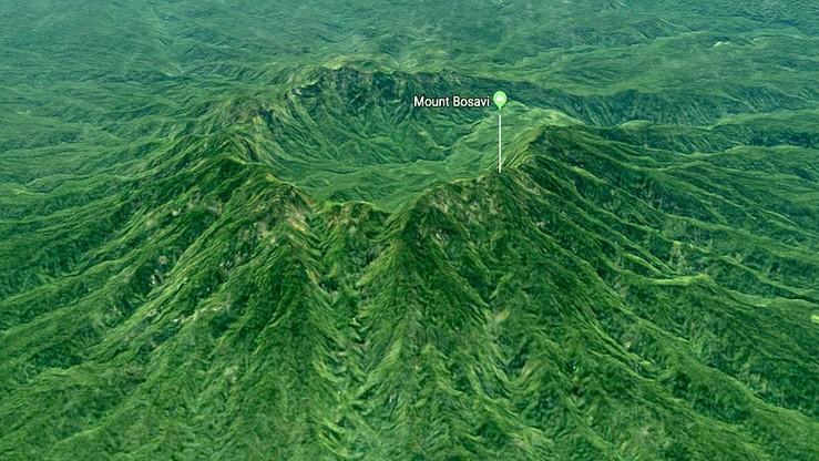 Mieszkańcy widzieli dym nad wulkanem wygasłym pół miliona lat temu. Naukowcy nie dowierzają
