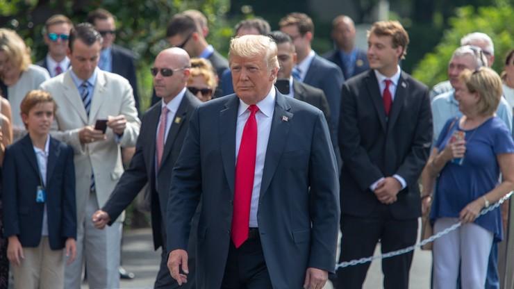Trump: to smutne, co zrobili Manafortowi; jest bardzo dobrym człowiekiem