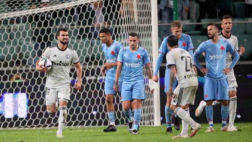 Liga Europy: Legia lepsza od Slavii! Mistrz Polski zagra w fazie grupowej