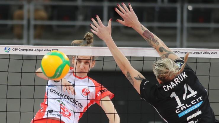 Zdecydowane zwycięstwo siatkarek ŁKS Commercecon Łódź w meczu kwalifikacji Ligi Mistrzyń